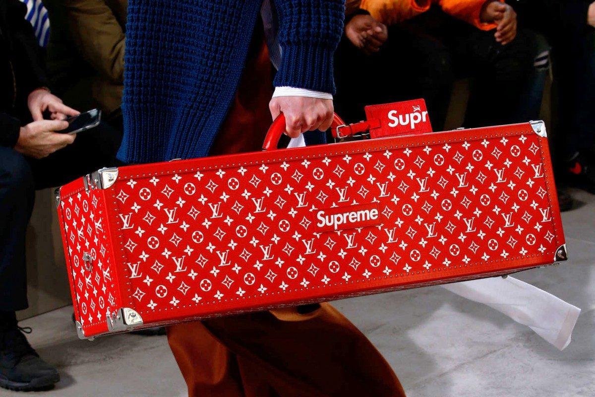 Can I Borrow 50k? Louis Vuitton X Supreme Skateboard Carrier