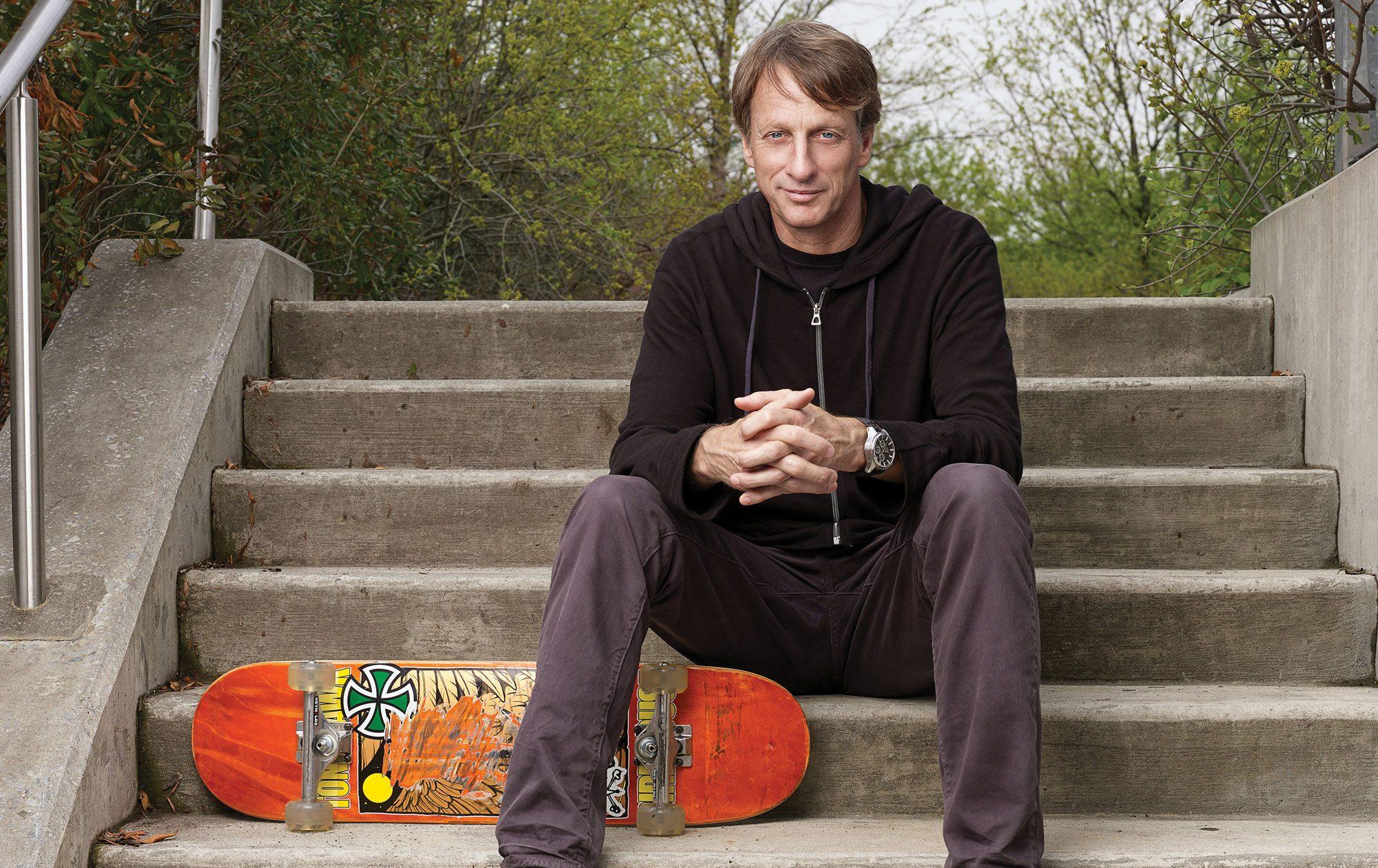 Skateboarding spencer hawk Tony Hawk